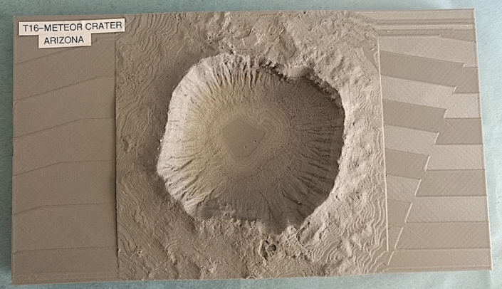 Tavola 16 Il Meteor Crater